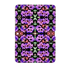 Purple Green Flowers With Green Samsung Galaxy Tab 2 (10 1 ) P5100 Hardshell Case  by Costasonlineshop