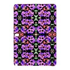 Purple Green Flowers With Green Samsung Galaxy Tab Pro 12 2 Hardshell Case