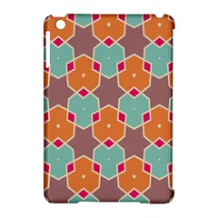 Stars and honeycombs pattern			Apple iPad Mini Hardshell Case (Compatible with Smart Cover) by LalyLauraFLM