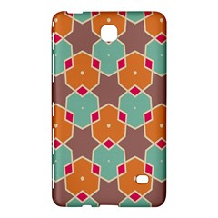 Stars And Honeycombs Patternsamsung Galaxy Tab 4 (7 ) Hardshell Case by LalyLauraFLM