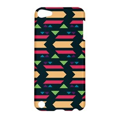 Triangles And Other Shapesapple Ipod Touch 5 Hardshell Case by LalyLauraFLM