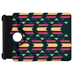 Triangles And Other Shapeskindle Fire Hd Flip 360 Case by LalyLauraFLM