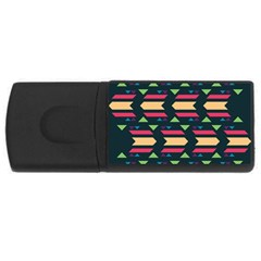 Triangles and other shapes			USB Flash Drive Rectangular (4 GB) by LalyLauraFLM