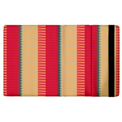 Stripes And Other Shapesapple Ipad 3/4 Flip Case by LalyLauraFLM