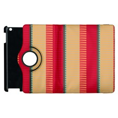 Stripes And Other Shapesapple Ipad 3/4 Flip 360 Case by LalyLauraFLM