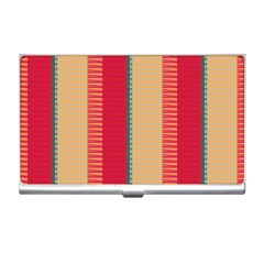 Stripes And Other Shapesbusiness Card Holder by LalyLauraFLM