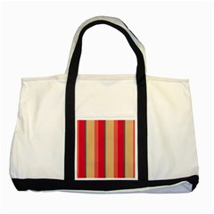 Stripes And Other Shapes			two Tone Tote Bag by LalyLauraFLM