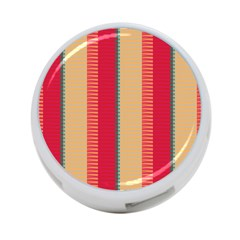 Stripes And Other Shapes4 Port Usb Hub (one Side) by LalyLauraFLM