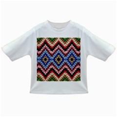 Colorful Diamond Crochet Infant/toddler T Shirts