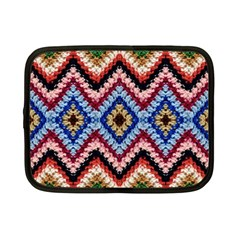 Colorful Diamond Crochet Netbook Case (small)