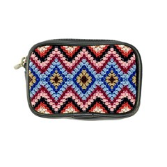 Colorful Diamond Crochet Coin Purse by Costasonlineshop