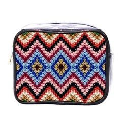 Colorful Diamond Crochet Mini Toiletries Bags