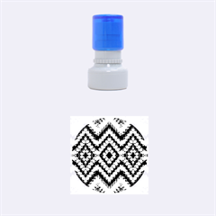 Colorful Diamond Crochet Rubber Round Stamps (small) by Costasonlineshop