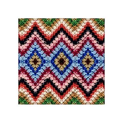 Colorful Diamond Crochet Acrylic Tangram Puzzle (4  X 4 )