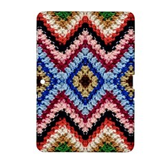 Colorful Diamond Crochet Samsung Galaxy Tab 2 (10 1 ) P5100 Hardshell Case