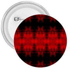 Red Black Gothic Pattern 3  Buttons by Costasonlineshop