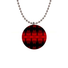 Red Black Gothic Pattern Button Necklaces by Costasonlineshop
