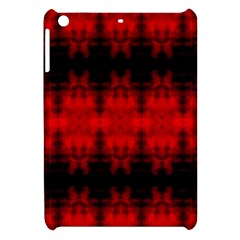 Red Black Gothic Pattern Apple Ipad Mini Hardshell Case by Costasonlineshop
