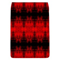 Red Black Gothic Pattern Flap Covers (s)  by Costasonlineshop