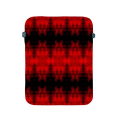 Red Black Gothic Pattern Apple Ipad 2/3/4 Protective Soft Cases