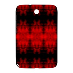 Red Black Gothic Pattern Samsung Galaxy Note 8 0 N5100 Hardshell Case