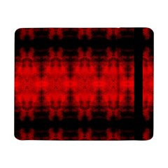 Red Black Gothic Pattern Samsung Galaxy Tab Pro 8 4  Flip Case by Costasonlineshop