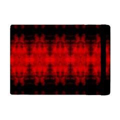 Red Black Gothic Pattern Ipad Mini 2 Flip Cases