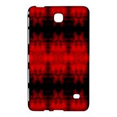 Red Black Gothic Pattern Samsung Galaxy Tab 4 (7 ) Hardshell Case  by Costasonlineshop