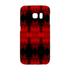 Red Black Gothic Pattern Galaxy S6 Edge by Costasonlineshop