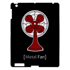 Metal Fan Apple Ipad 3/4 Hardshell Case by waywardmuse