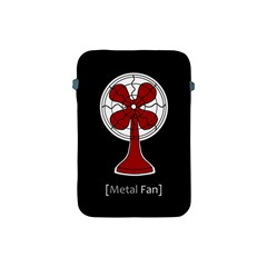 Metal Fan Apple Ipad Mini Protective Soft Cases by waywardmuse
