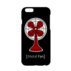 Metal Fan Apple Iphone 6/6s Hardshell Case by waywardmuse