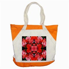 Beautiful Red Roses Accent Tote Bag  by Costasonlineshop