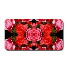 Beautiful Red Roses Medium Bar Mats by Costasonlineshop