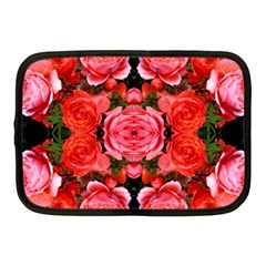 Beautiful Red Roses Netbook Case (Medium)  by Costasonlineshop