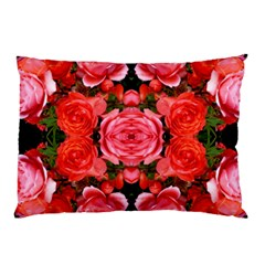 Beautiful Red Roses Pillow Cases by Costasonlineshop