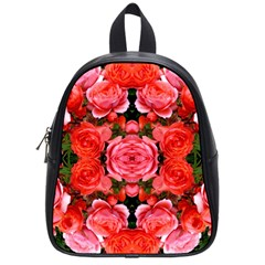 Beautiful Red Roses School Bags (small)  by Costasonlineshop