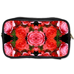 Beautiful Red Roses Toiletries Bags 2 Side by Costasonlineshop