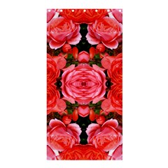Beautiful Red Roses Shower Curtain 36  x 72  (Stall)  by Costasonlineshop