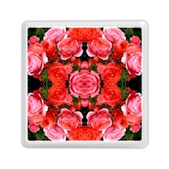 Beautiful Red Roses Memory Card Reader (square)  by Costasonlineshop