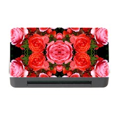 Beautiful Red Roses Memory Card Reader with CF by Costasonlineshop