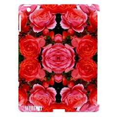 Beautiful Red Roses Apple Ipad 3/4 Hardshell Case (compatible With Smart Cover) by Costasonlineshop
