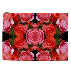 Beautiful Red Roses Cosmetic Bag (xxl)  by Costasonlineshop