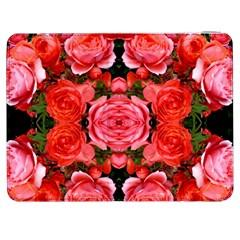 Beautiful Red Roses Samsung Galaxy Tab 7  P1000 Flip Case by Costasonlineshop