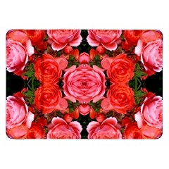 Beautiful Red Roses Samsung Galaxy Tab 8.9  P7300 Flip Case by Costasonlineshop