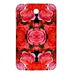 Beautiful Red Roses Samsung Galaxy Tab 3 (7 ) P3200 Hardshell Case  by Costasonlineshop