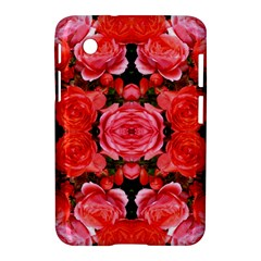 Beautiful Red Roses Samsung Galaxy Tab 2 (7 ) P3100 Hardshell Case  by Costasonlineshop