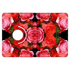 Beautiful Red Roses Kindle Fire Hdx Flip 360 Case by Costasonlineshop
