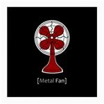 Metal Fan Medium Glasses Cloth (2-Side) Front