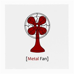 Metal Fan Medium Glasses Cloth (2 Side) by waywardmuse